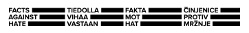 Facts against racist logo